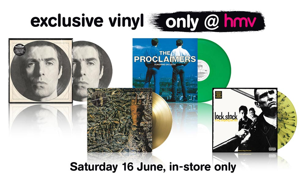 HMV Vinyl Week returns in time for Father's Day