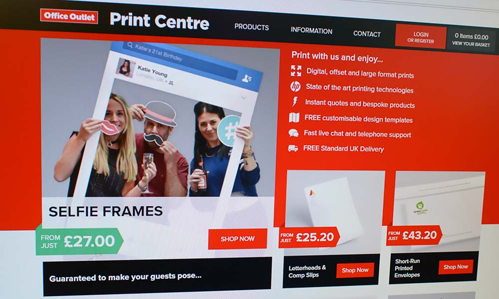 Office Outlet expands digital print offering